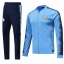 2018-19 Man City  Blue  soccer jacket